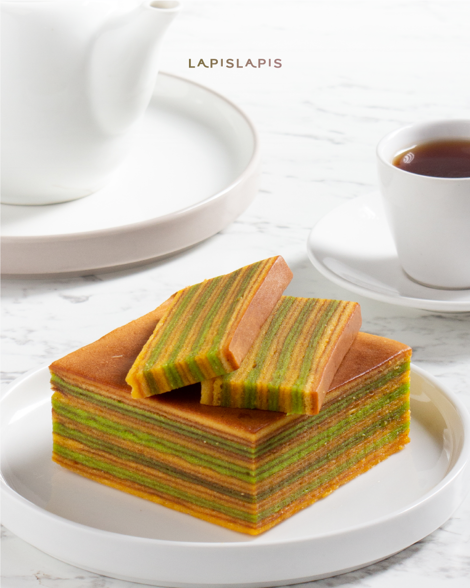 Lapis Green Tea Quarter